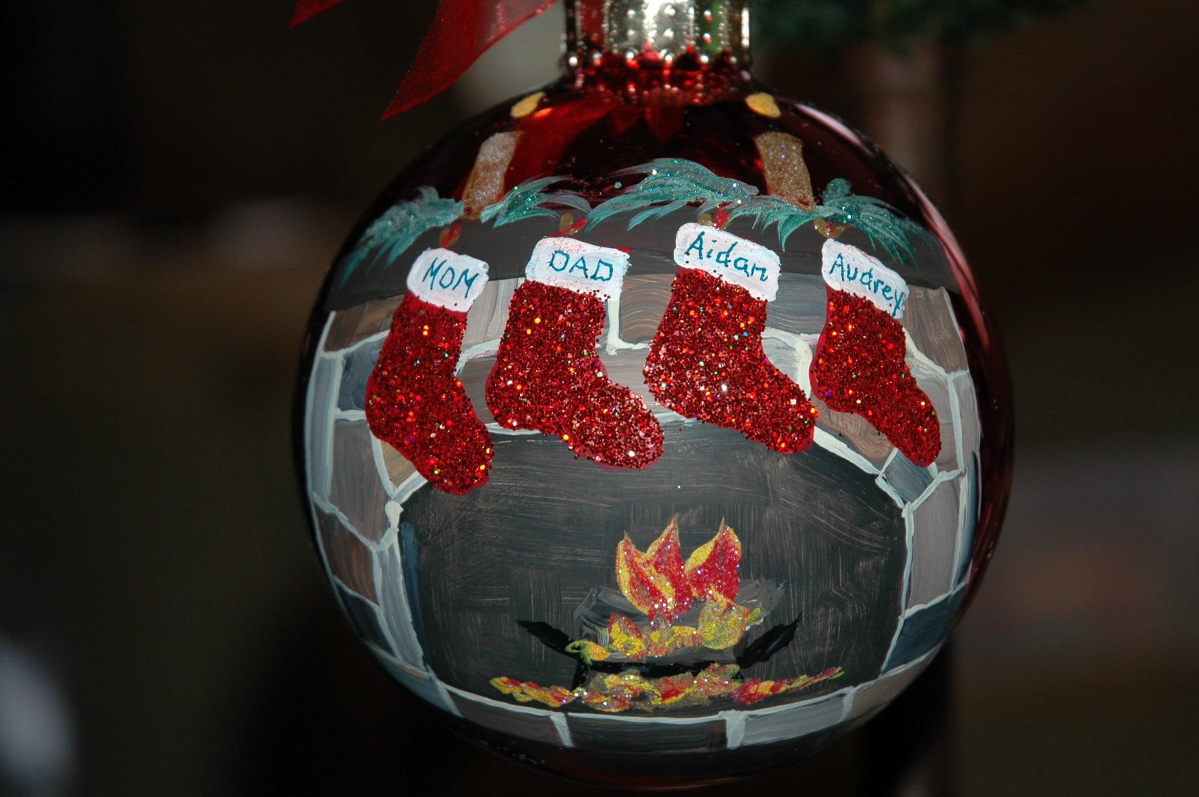 Custom Hand Painted Ornament