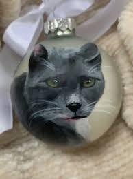 Custom Hand Painted Pet Ornaments
